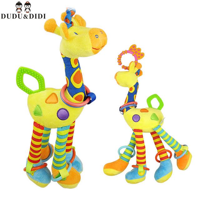 Висит кровать колокол ребенок плюшевые погремушки с ребенком прорезыватели детские игрушки 0 - 1 года WJ188