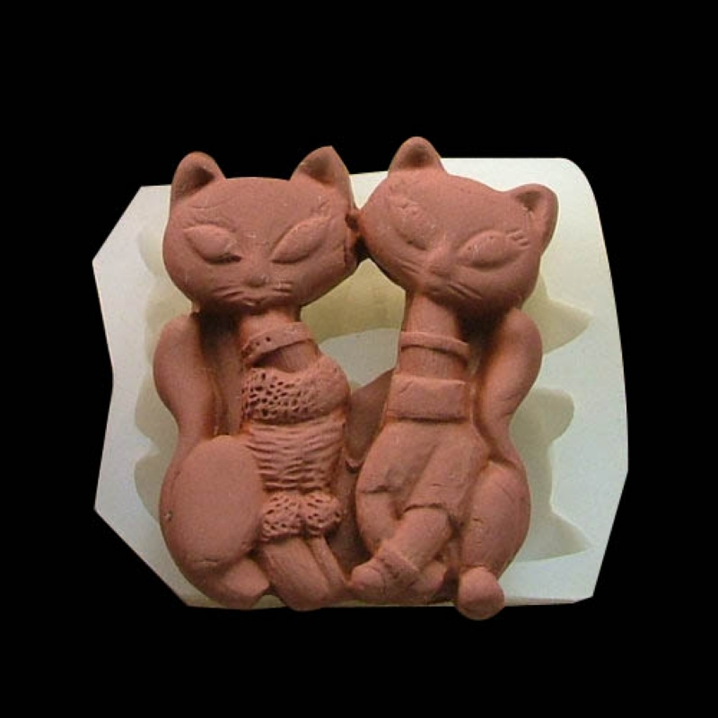 2015 New DIY cat style silicone chocolate molds for cake decorating soap mold fondant tools resin mold kitchen cake tools baking(China (Mainland))