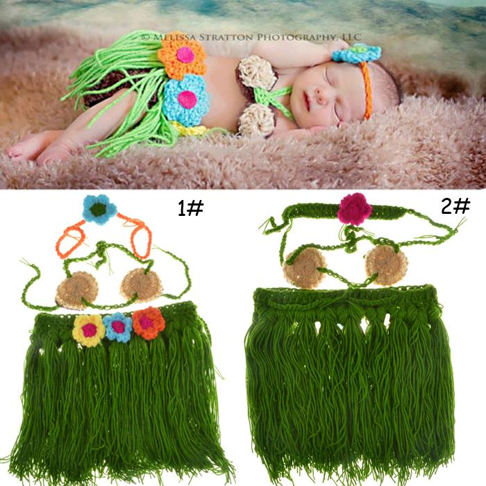 Latest Style Baby Knitted Headbands abd Skirt Set Newborn Baby Girl Crochet Photography Props Hand Made Baby Clothes MZS-15001(China (Mainland))