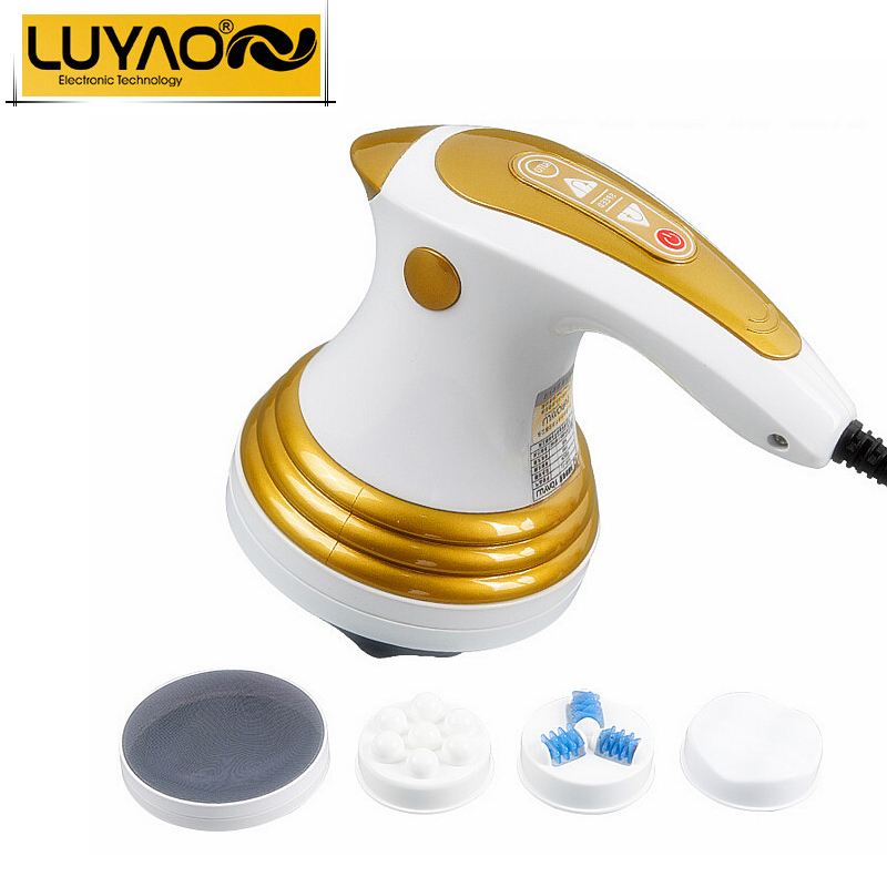 LUYAO Electric slimming Shaper massager.Roller Anti cellulite full body vibration neck massager.Loss weight fat burner machine(China (Mainland))