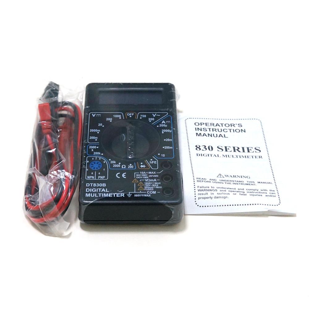Гаджет  New Professional  DT-830B AC / DC LCD Digital Meter Test f Voltmeter Ammeter Ohm Multimeter Tester None Инструменты