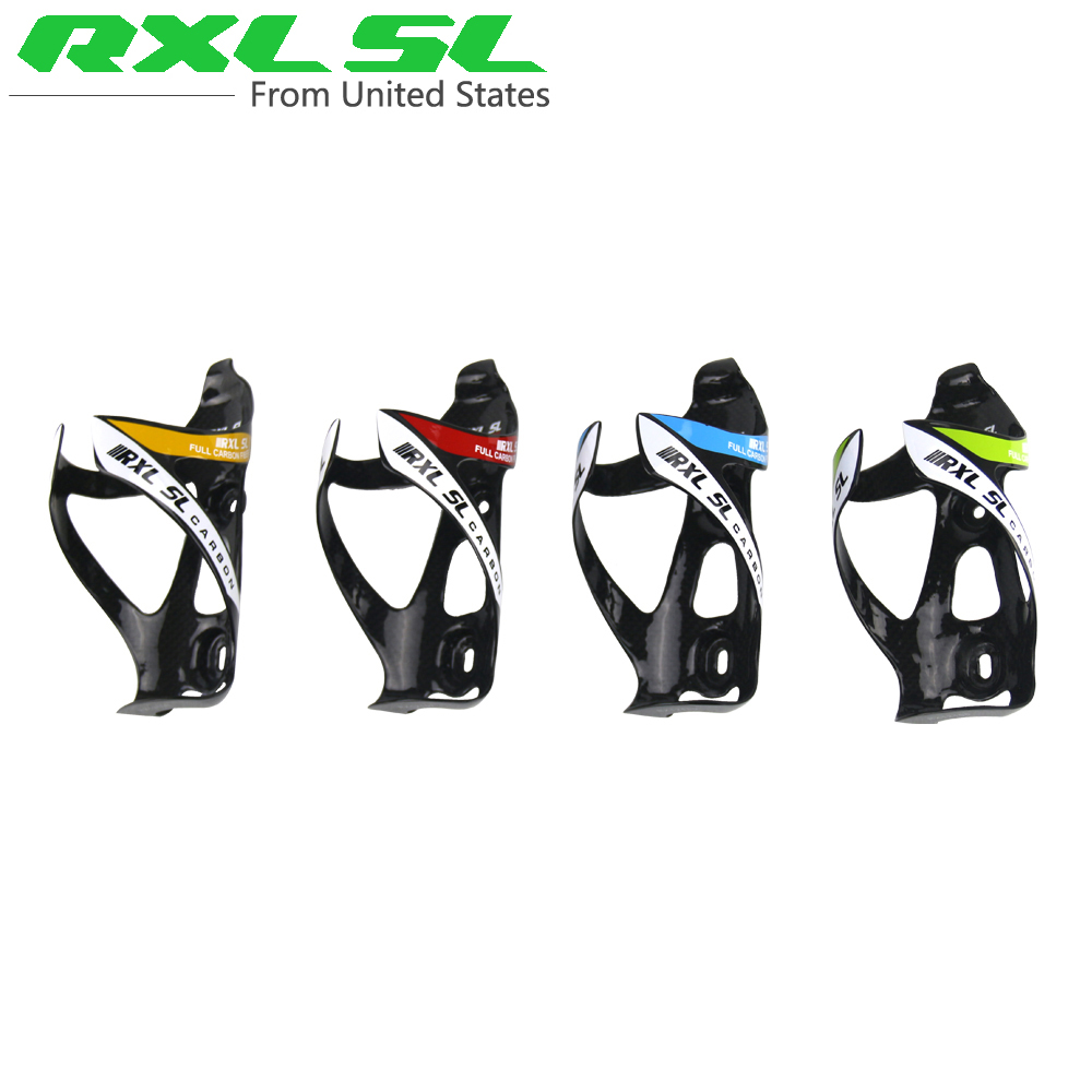 RXL SL Carbon Water Bottle Cage Bicycle Bottle Holder MTB Road Carbon Bottles Cages Bike Bottles Holder 4 Colors Cycling(China (Mainland))