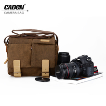 Buy CADeN Sling Shoulder Camera Bags Digital Photo Video Waterproof Canvas Soft Bag DSLR Carry Case Canon Nikon Sony Pentax N2 for $29.99 in AliExpress store