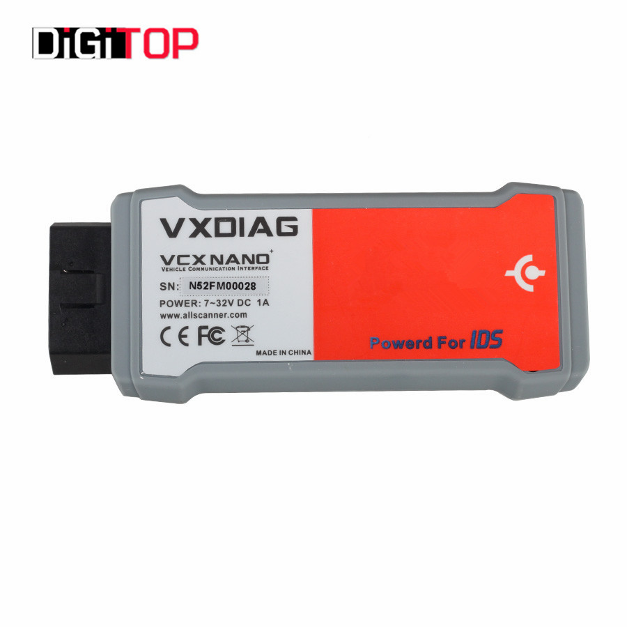 VXDIAG VCX NANO for Ford/Mazda 2 in 1 with IDS V100.01 VXDIAG VCX NANO Auto Scanner Support Vehicle Till 2015 Year Update By CD(China (Mainland))