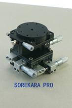 Xyzr cuatro ejes 60 X 60 mm ajustable Linear Stage cruz roller precisión del rodamiento