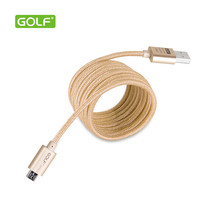 Buy GOLF Micro USB Cable 2A Metal Braided Cord Data Sync Wire Samsung Huawei Xiaomi Meizu Lenovo ZTE Sony LG & Android USB Cable for $3.31 in AliExpress store