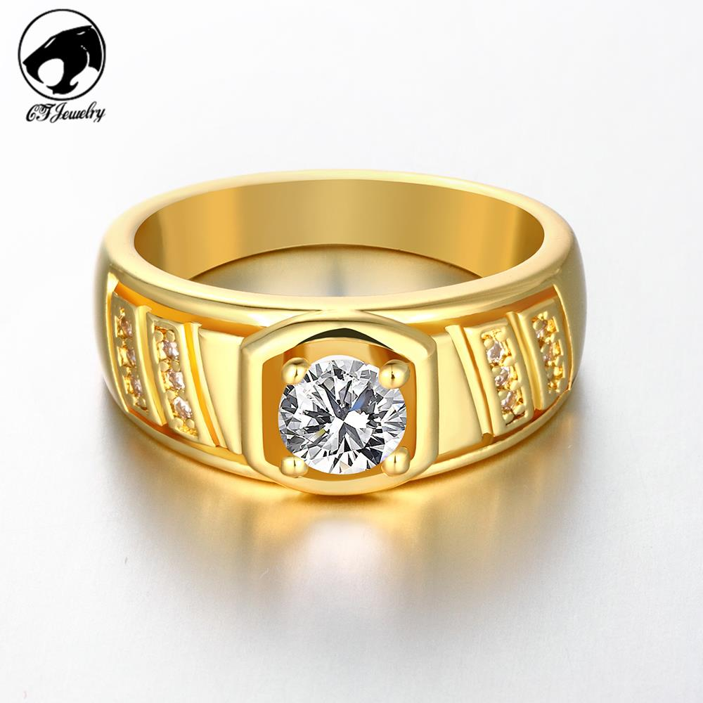 Buy 2015 Jewelry Luxury Rose Gold Wedding Bands For Men Ring