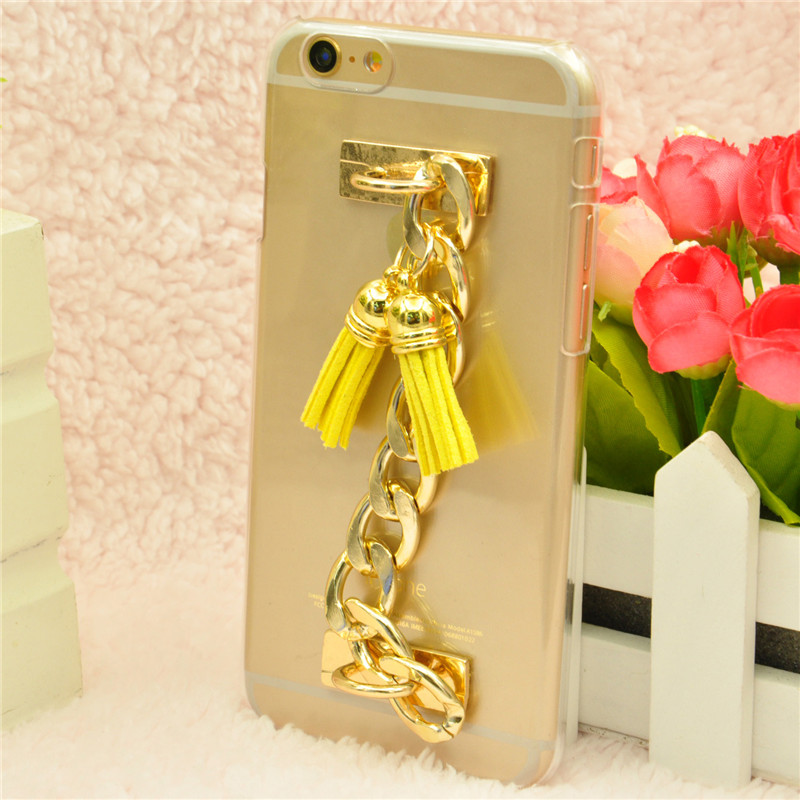 2015 New Luxury Phone Case Cover for Sony Xperia Z3 Compact Case With Metal Chain Fashion Plastic Hard Phone Housing China Style(China (Mainland))