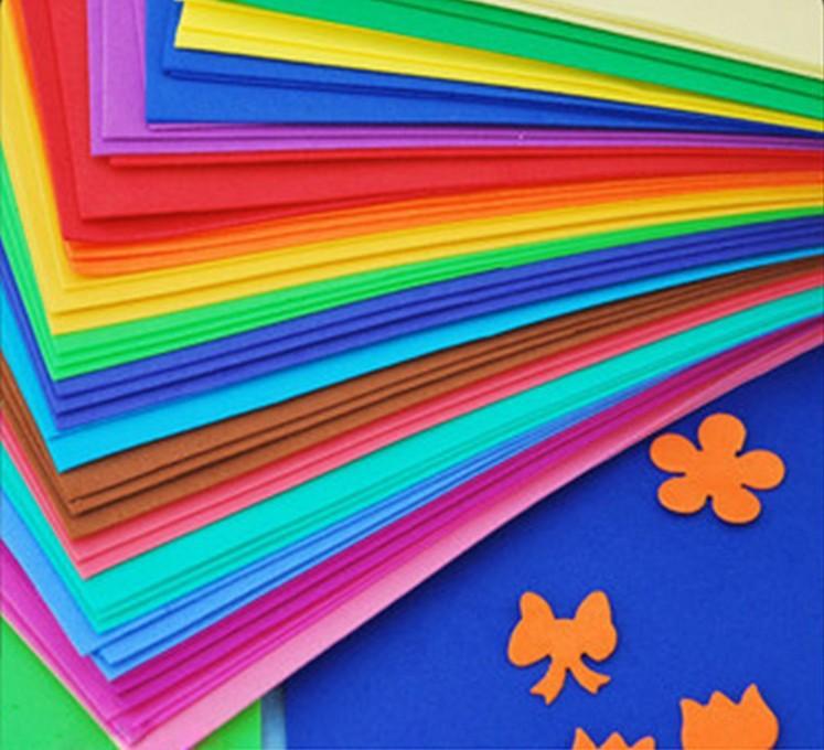 Цветная бумага на английском