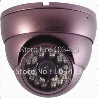 "1/4"" Sharp CCD, 420TVL, 3.6mm Lens , 15M IR Distance CCTV Camera with metal house"