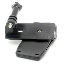 Sport cameras Xiaomi Yi GoPro Sjcam Backpack Clip Clamp Mount For Go Pro 3 SJ4000/SJ5000/SJ6000/SJ7000 Action Camera Accessories(China (Mainland))