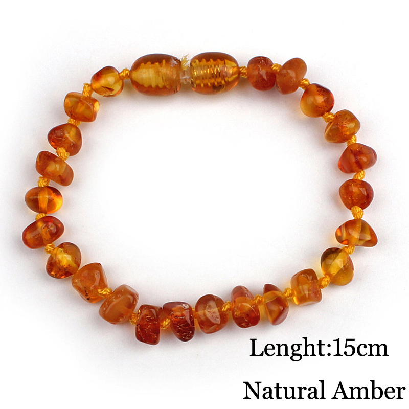 Popular Baby Chew Bracelet Certified Natural Baltic Amber Baby Teething Bracelet Jewelry Gift For Infant Child Boys And Girls(China (Mainland))