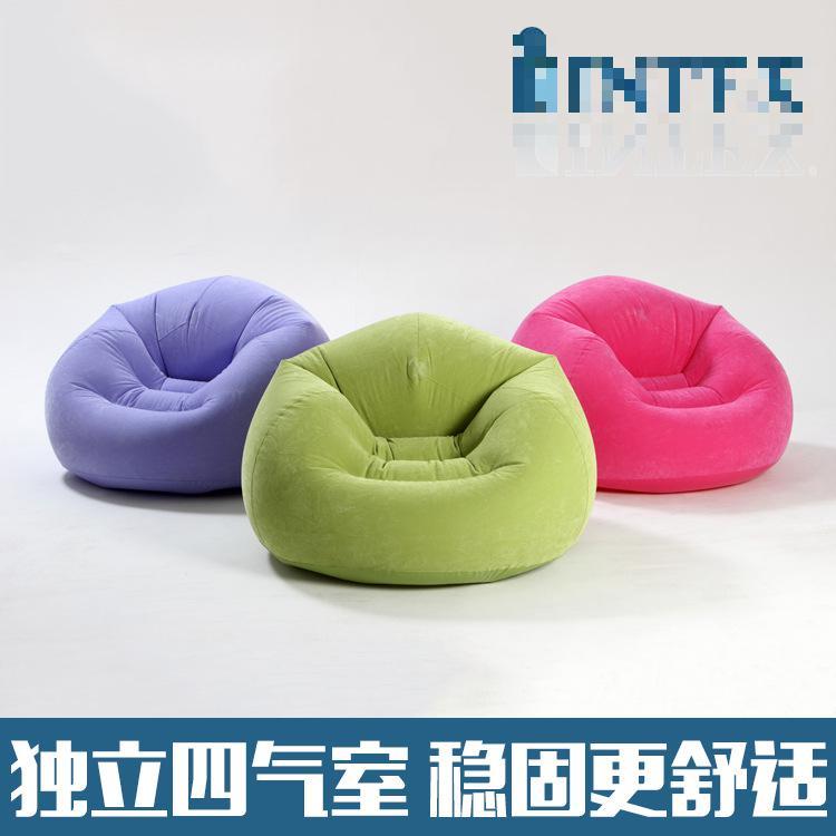 Adult Color Bean Chair Lazy Lazy Inflatable Recreational Sofa Flocking Wholesale Soft Furnishing Sofa European Corner Sofa(China (Mainland))