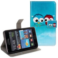 Buy Cute Animal PU Printing Leather Wallet Case Samsung GALAXY S2 I9100 ID Card Holder Stand Bags Cover Protector Skin for $3.85 in AliExpress store