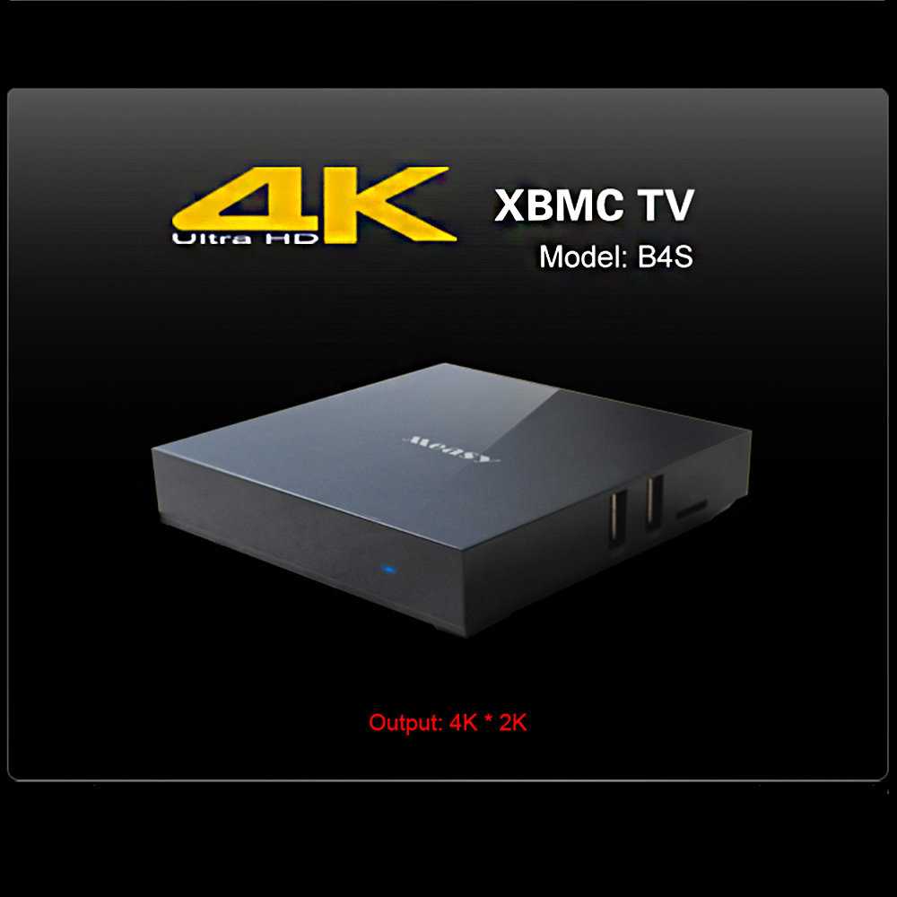 Wi-Fi Bluetooth 4.0 RK3288 MEASY B4S Android 4.4 TV Box Quad-Core ARM Cortex-A17 2G/8G