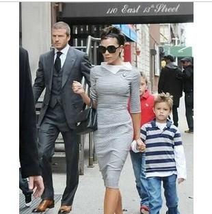 S-XL Free Shipping Women's Fashion slim hip slim one-piece dress ladies Casual Dresses#AH015