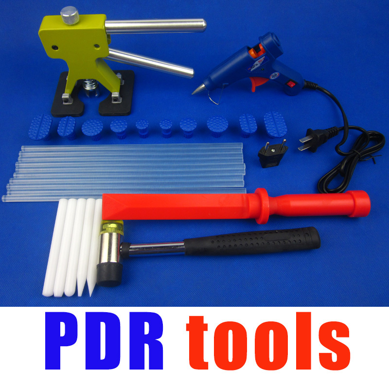 Free shipping Paintless dent repair tools removal glue pulling system 10abs - Tab lifter kit<br><br>Aliexpress