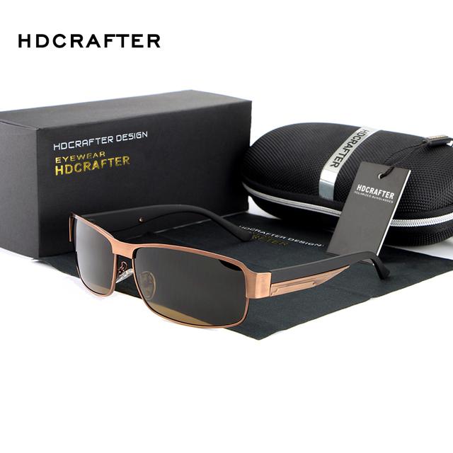 Высокое качество Поляризованных Солнцезащитных Очков мужчины солнцезащитные очки ...