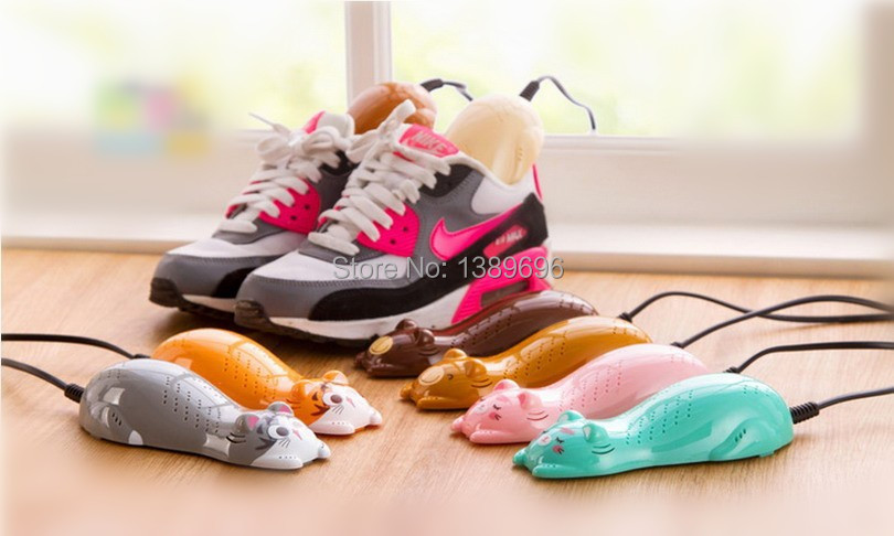 Shoes Dryer Shoes Warmer Deodorant Cartoon Shape Shoes Dryer Machine NEW arrival HOT sales 2015 Fashion For Good Quanlity(China (Mainland))