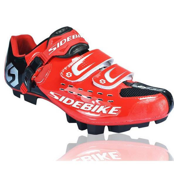 Фотография Professional SIDEBIKE Bicycle Cycling Shoes Mountain BIke Racing Athletic Shoes Breathable MTB Self-locking Shoes