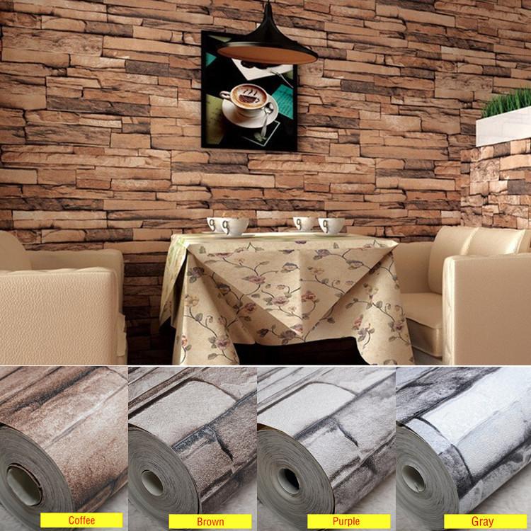 2015 new arrive a grade luxury classic vintage home living - Deco mur brique salon ...