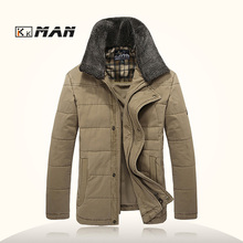 Mens coats business casual Mens Winter Jackets And Coats Down Outdoor Parka Fashionable thickening Cotton-padded clothes jacket