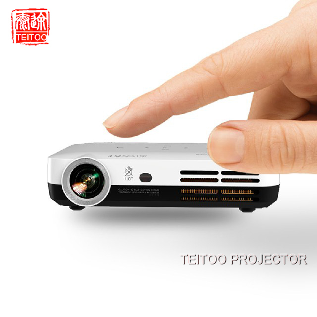 3500 Lumens 1280x800 Native DVD Cell Phone Kids Mobile Cinema Movie Film Enlarged Image Data Show Darkness Outdoor Projector(China (Mainland))