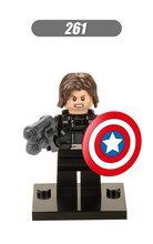 X0114 Legoingly formiga Vingadores Marvel Super hero líder da equipe pantera Negra máquina de guerra Homem de ferro Hulk Spiderman Building Blocks toy(China)