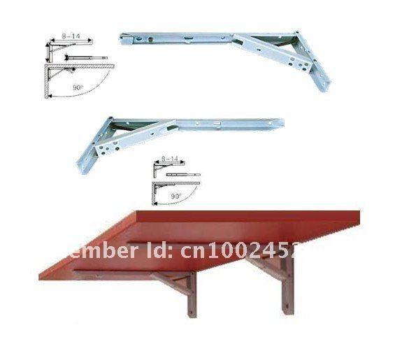 Furniture hardware multi-function folding hinge