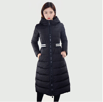 2016 new heat winter Thicken Warm woman Down jacket Coat Parkas Outerwear Hooded Slim long plus size XL Luxury Brands(China (Mainland))
