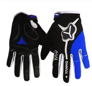 YANHO Long Finger Cycling Glove Gel Touch Screen Mountain Bike Bicycle Gloves for Man Woman MTB BMX DH Off Road Motocross Gloves(China (Mainland))
