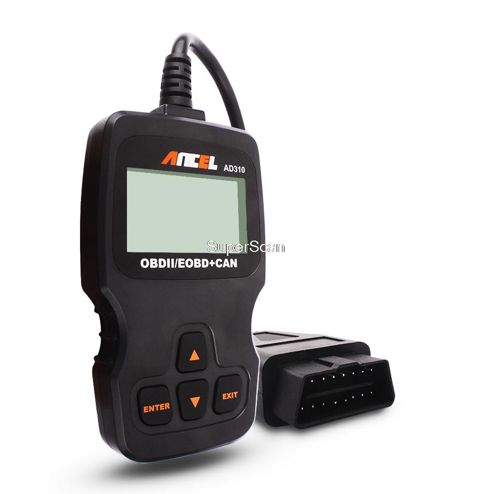 Ancel AD310 CAN OBD2 OBDII EOBD Engine Code Reader OBD 2 Hand-held Tester Scanner Auto Car Vehicle Diagnostic Scan Tool(China (Mainland))