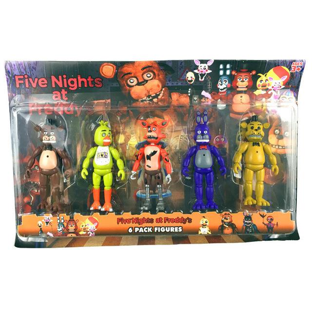 Online Shop 50PCS\u003d10SET Funko Pop Five Nights at Freddy\u0026#39;s ...