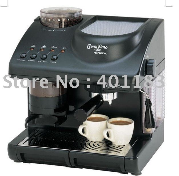 cappuccino machine with grinder
