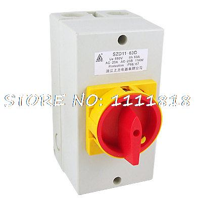 SZD11-63D On/Off Combination Switch Ue 690V Ith 63A<br><br>Aliexpress