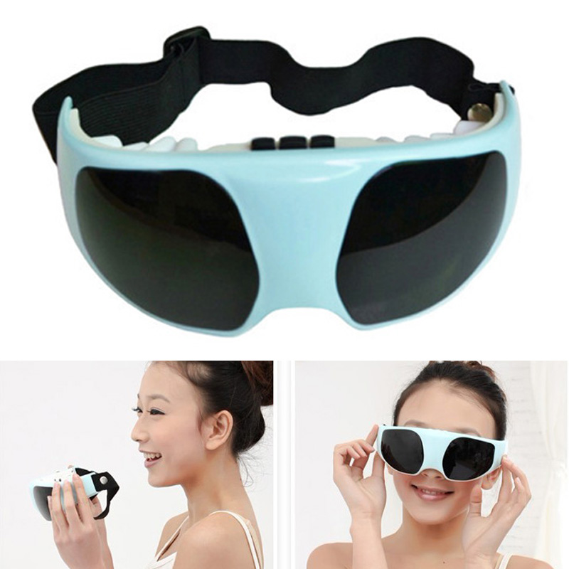 180*60*100mm 019 Eye Care Electric Vibration Release Alleviate Fatigue Electric Eye Massager