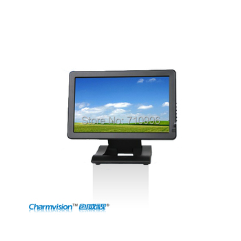 CHARMVISION M1011VAH-T, 10.1inch TFT LCD Touch Monitor with AV & HDMI & DVI, 4-Wire Resistive Touch Panel DVI & HDMI monitor