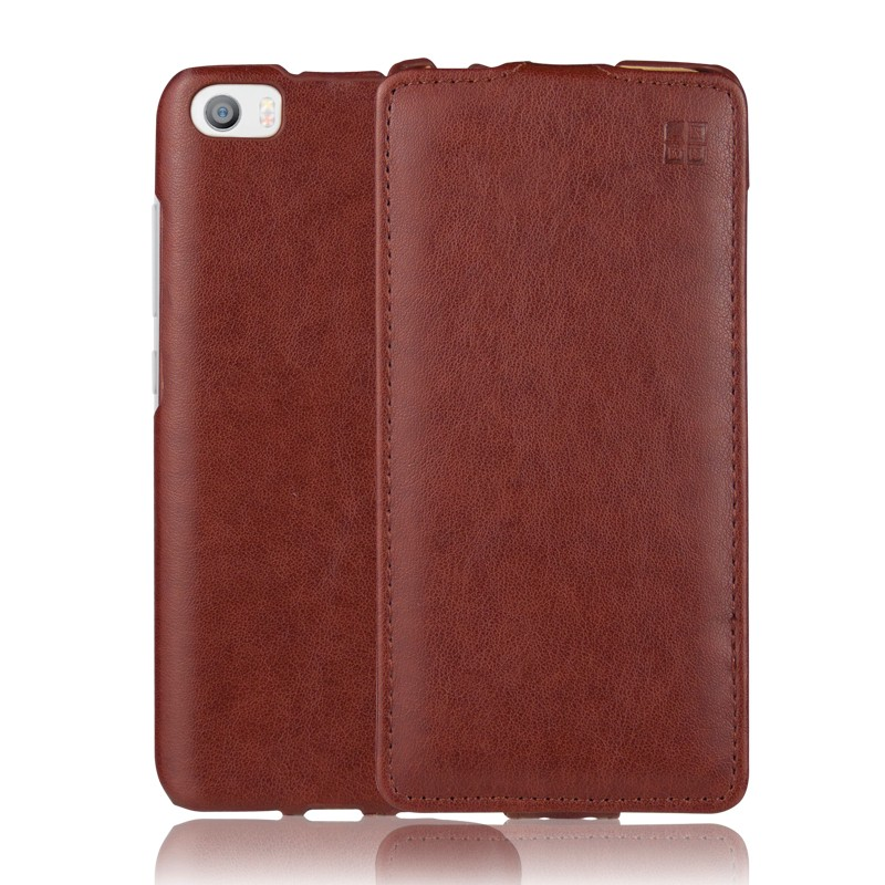 iMUCA Brand New Leather Case For Xiaomi m5 Mi5 Mi 5 Case Cover Mobile Phone Accessories Bag Shell For Xiaomi MI5 Flip Cases