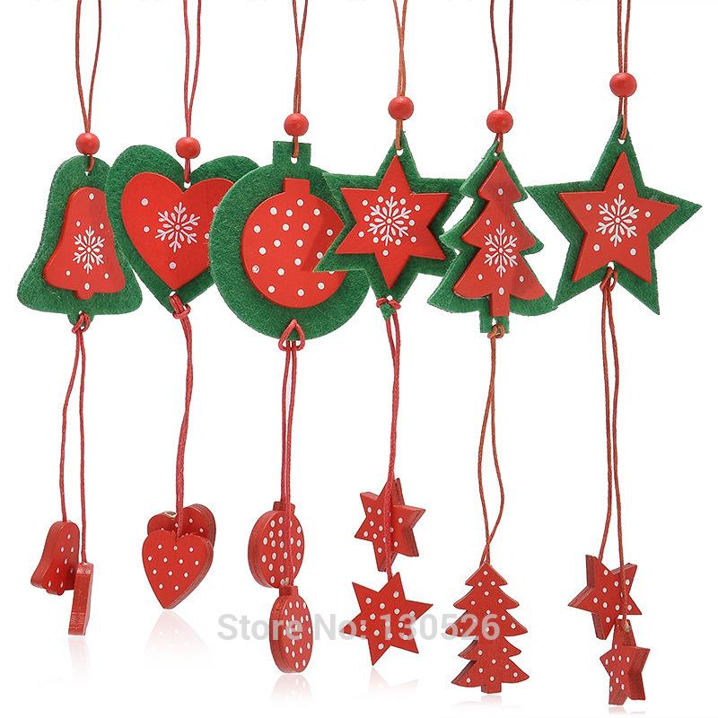 de decoracin de la casa del rbol de navidad estrella del corazn ornamento para el hogar y rboles d