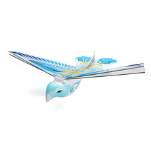 2.4G 2CH Redio Control Flying Bird E Bird Toy Hobbies Rc Bird E-BIRD Micro Flapping Wing Indoor Fly Birds RC Airplane RTF(China (Mainland))