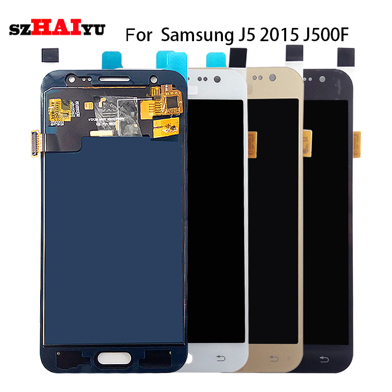 Tested Well LCD Display + Touch Screen For Samsung Galaxy J5 2015 J500 J500F J500FN J500M LCD Digitizer Assembly Tools SM-J500F(China (Mainland))