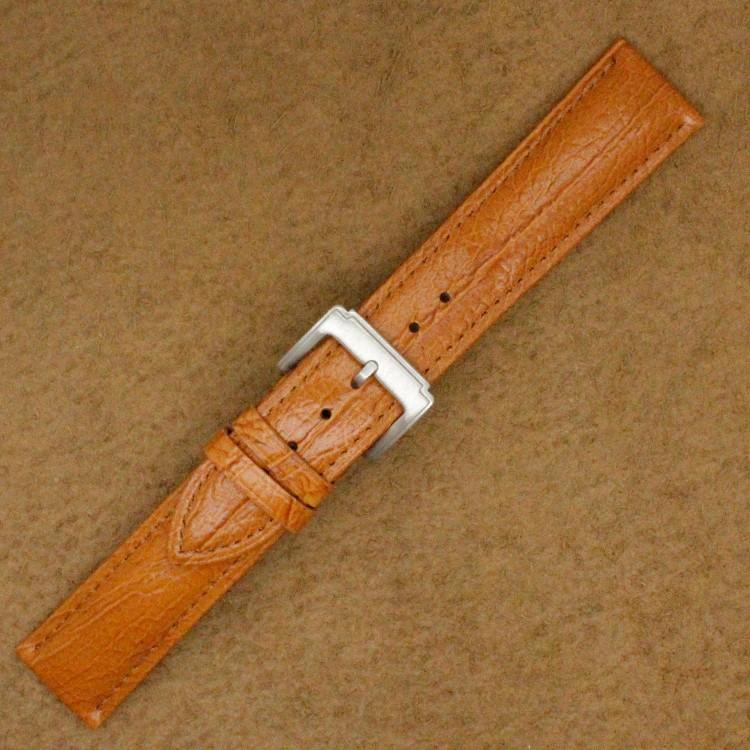 Ремешок 20 мм Винтажном Стиле Часы Группа Светло-Коричневый Италия Мягкая Натуральная Кожа Ремешок Для Часов Ремешок Для Часов Ремень Для часы