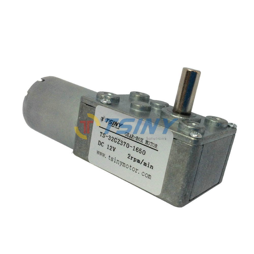 High quality dc gear motor 12v 2rpm dc geared Small gear motors dc