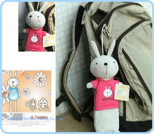 Kid Kawaii Metoo Rabbit BAG & Backpack Pendant Plush Pen Pencil BAG Pouch Case Coin Purse & Wallet BAG Cosmetics Beauty BAG Case(China (Mainland))