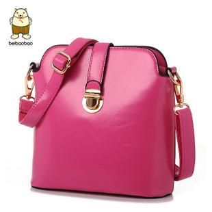 Free Shipping 2015 women handbag shoulder cross-body bag bucket faux Leather women's bags vintage women messenger bag(China (Mainland))