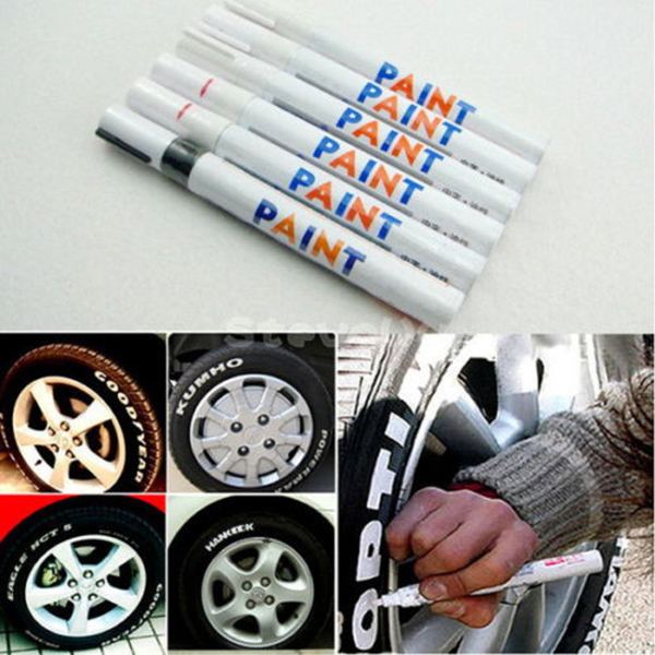 Hot Sale Painting Pens Candy Tyre Tire Pen Trim Marker Paint Car Hot(China (Mainland))