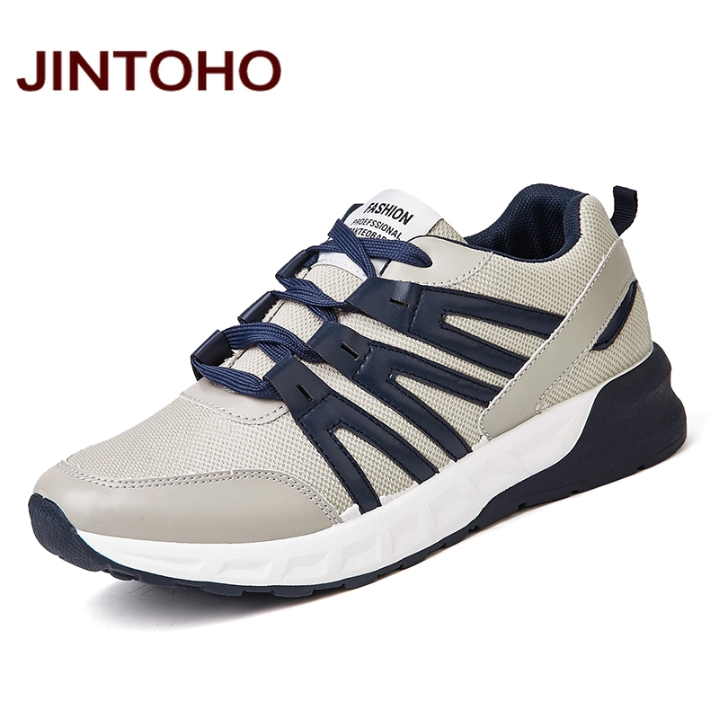 JINTOHO 2016 Sport Mens Running Shoes Brand Men Athletic Shoes Cheap Walking Shoes Breathable Men Sneakers Imported Sneakers(China (Mainland))