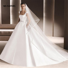 3m Long Tulle cathedral Bridal Wedding Veil Comb Two Layer Ribbon Edge Wedding Accessories velos de novia veu de noiva longo(China (Mainland))