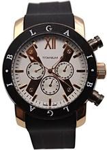 2014 BVL logotipo de la marca Mens relojes deportivos de lujo de goma negocios oro rosa correa elegantes relojes de pulsera automático