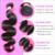 6A Peruvian Virgin Hair Body Wave 8-28 inch 3pcs/lot Peruvian Body Wave Virgin Human Hair Weave Free Shipping HJ Weave Beauty